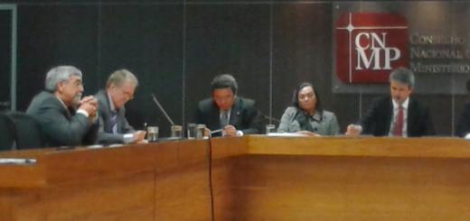 Presidente do CNCGMP, Nelson Gonzaga de Oliveira, acompanhou os trabalhos