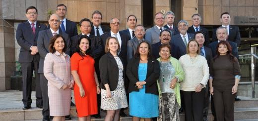 Corregedores-Gerais reunidos para a foto oficial do evento
