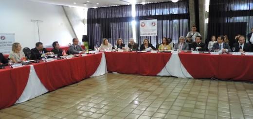 Mesa da abertura da 93ª Reunião do CNCGMP