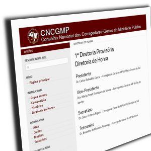 Novo site do CNCGMP.