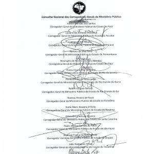 Carta de Porto Alegre. Fl. 002