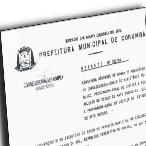 Decreto 82-1994 de Corumba