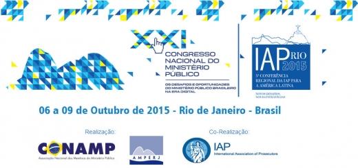 99a Reuniao. Reportagem da AMPERJ 0. Logo do XXi Congresso