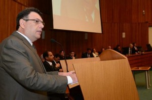 Discurso de Ruben Giugno Abruzzi durante a posse