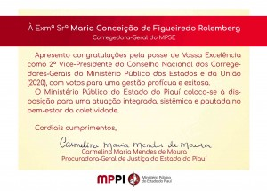 2ª vice-presidente Maria Conceição