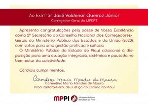 2º secretário José Valdenor